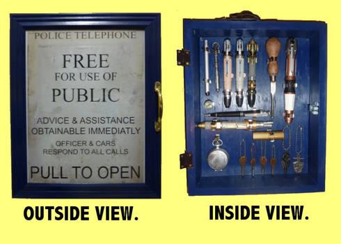 TARDIS Door Box