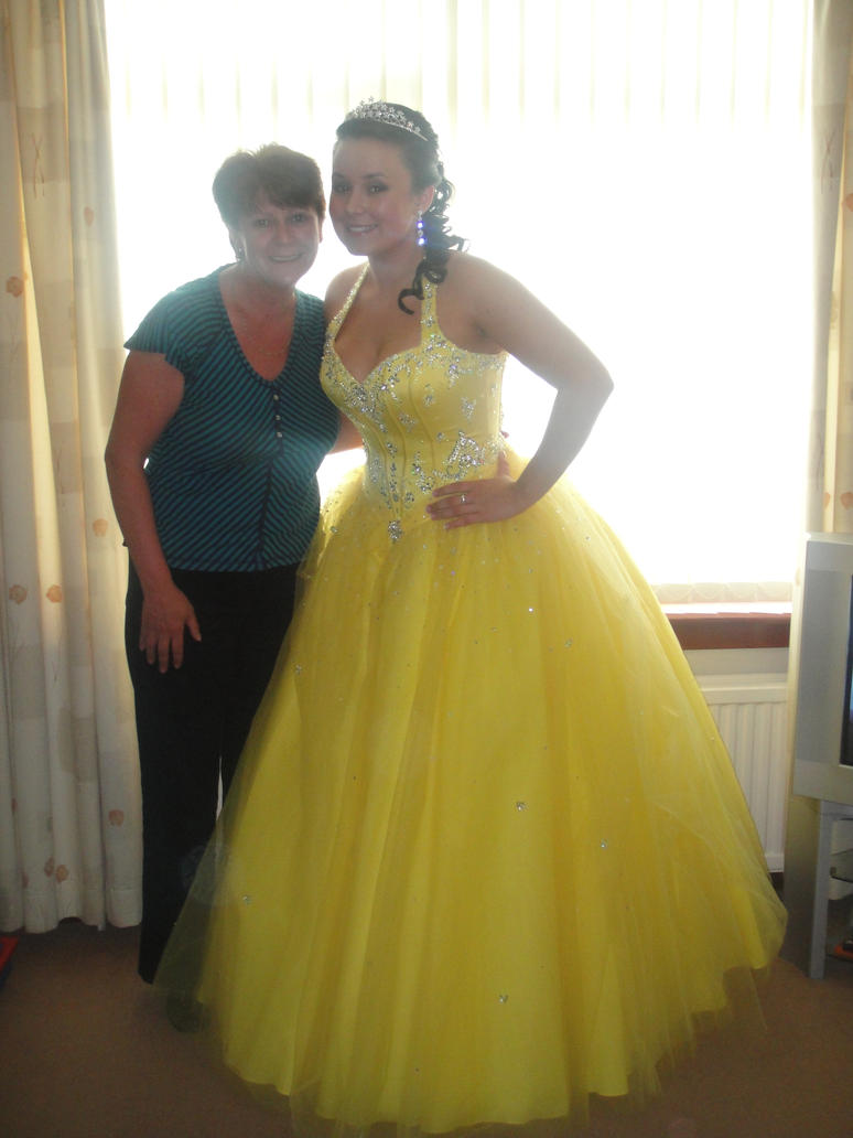 My \'Belle\' Prom Dress by TheWayIDancedWithYou on DeviantArt