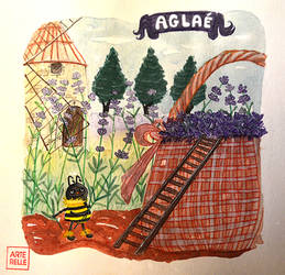 Aglae l'abeille by Arterelle