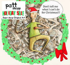 Pattshopp HoHoHoliday Sale by PattKelley