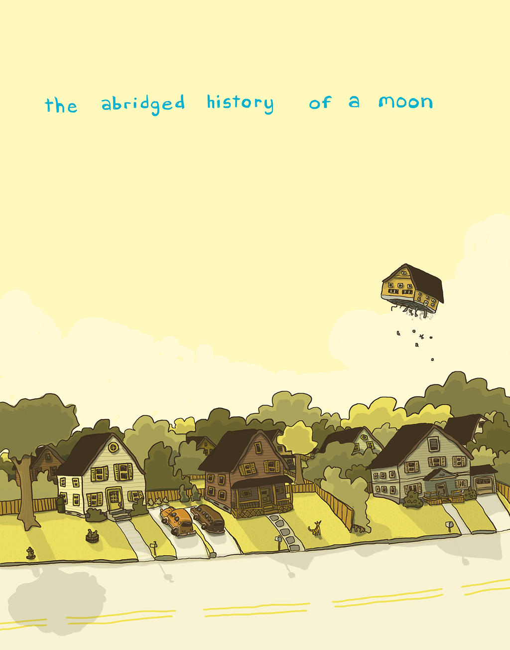 The Abridged History of a Moon by PattKelley