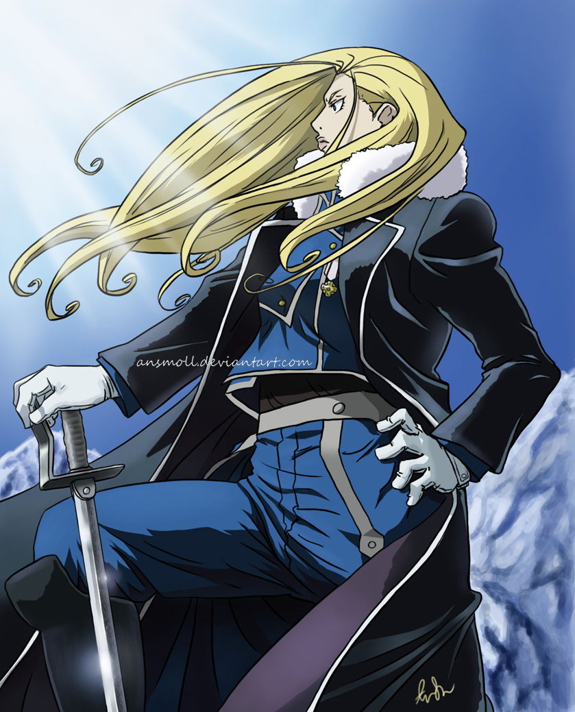 General Olivier Armstrong by AnSmoll on DeviantArt
