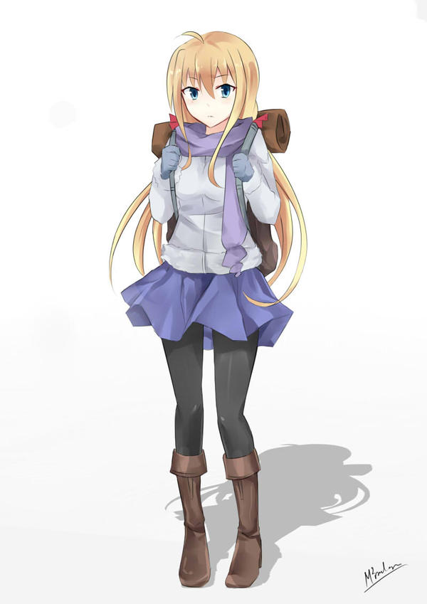 Winter Outfit by MMrailgun on DeviantArt