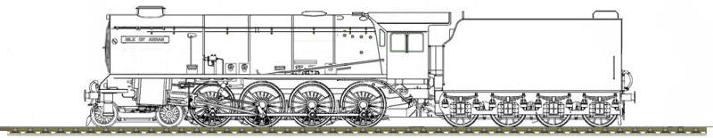 The Inmond Valley Thunder Class Design Drawings by ThatDesignerOfLocos