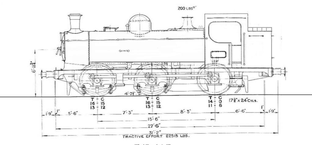 modified pannier tank engine (57xx) by thatdesigneroflocos