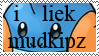 'i liek mudkipz' Stamp by Wormy179