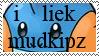 'i liek mudkipz' Stamp by Wormy179