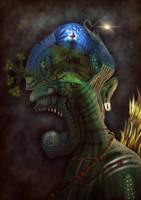 Arupadaiveedu Guardian by Tin-Can-Colossus