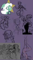 doodles by gay-z0mbie