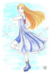 Generic Shojo Girl by aHollyWolfe