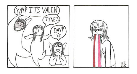 Cynics and Valentine's Day by aHollyWolfe