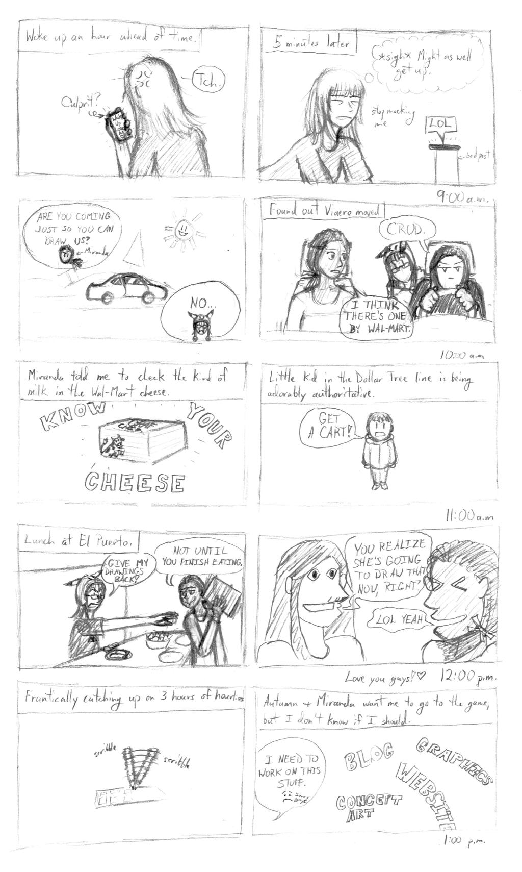 Hourly Comic Day 2014 Part 1