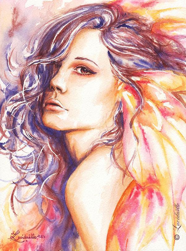 Deviations préférées de la semaine : [KIKY] - Page 5 Fairy_of_the_dusk_by_lucidaelle-d7hed6v