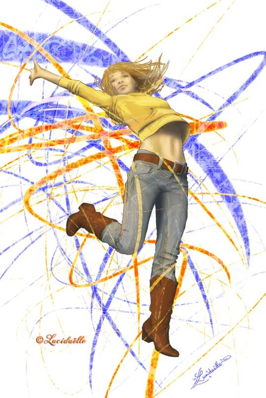 Leap of joy by Lucidaelle