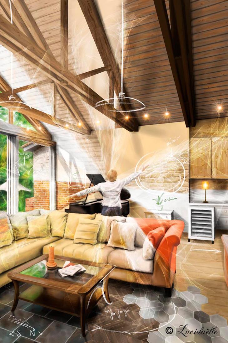 Creative House by Lucidaelle