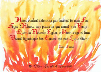 Poem Fr Feu ardent