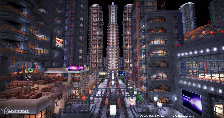 Aurora City Project [Minecraft] [01] by NickPolyarush