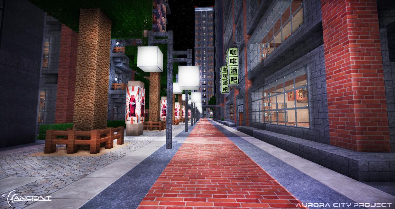 Aurora City Project [Minecraft] [02] by NickPolyarush