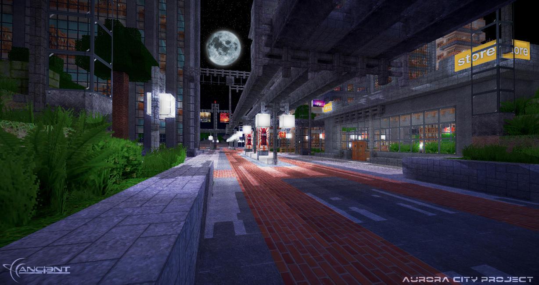 Aurora City Project [Minecraft] [03] by NickPolyarush