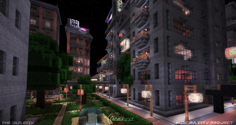 Aurora City Project [Minecraft] [04] by NickPolyarush