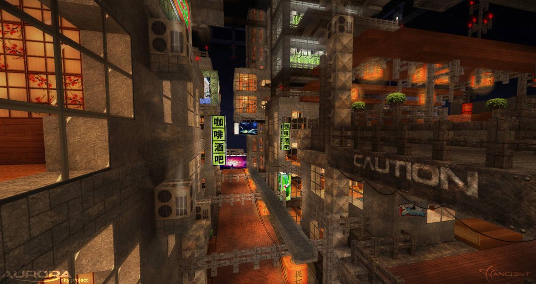 Aurora City Project [Minecraft] [12] Lower Levels by NickPolyarush