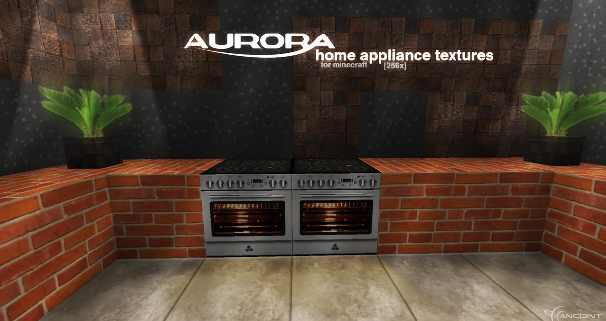 Home Appliance textures for Minecraft [preview] by NickPolyarush