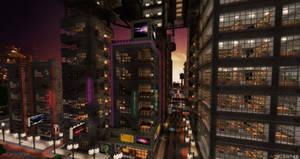 Aurora City Project [Minecraft] [14] Cyber City 2 by NickPolyarush