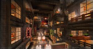 Aurora City Project [Minecraft] [15] Cyber City 3