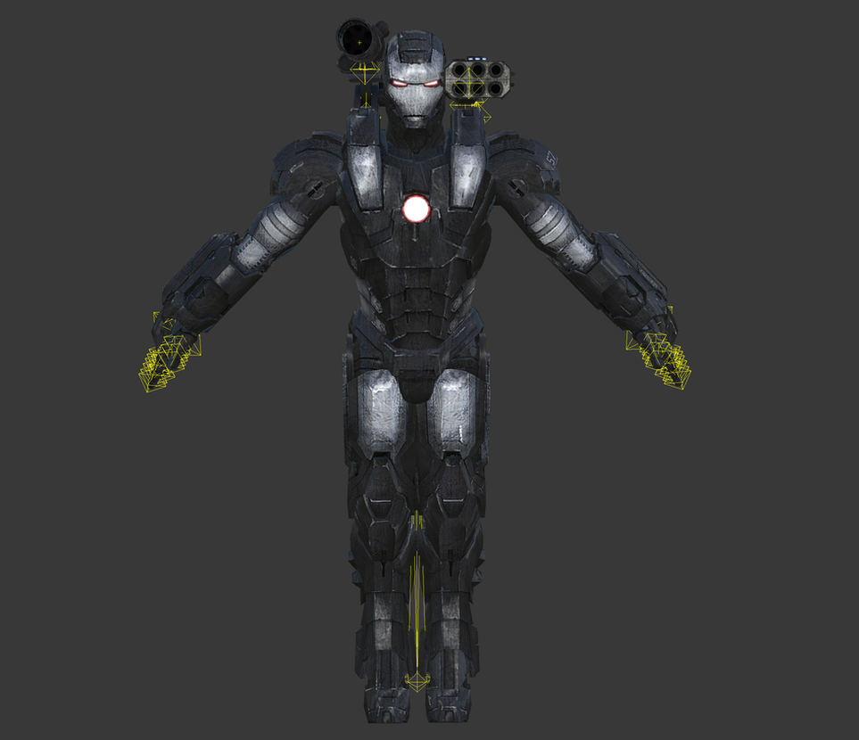 Iron Man 2 [Xbox-360] - Warmachine by elonir