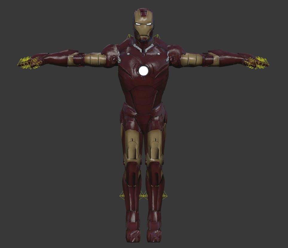 Iron Man: The Video Game [Xbox-360] - IronMan MK 3 by elonir