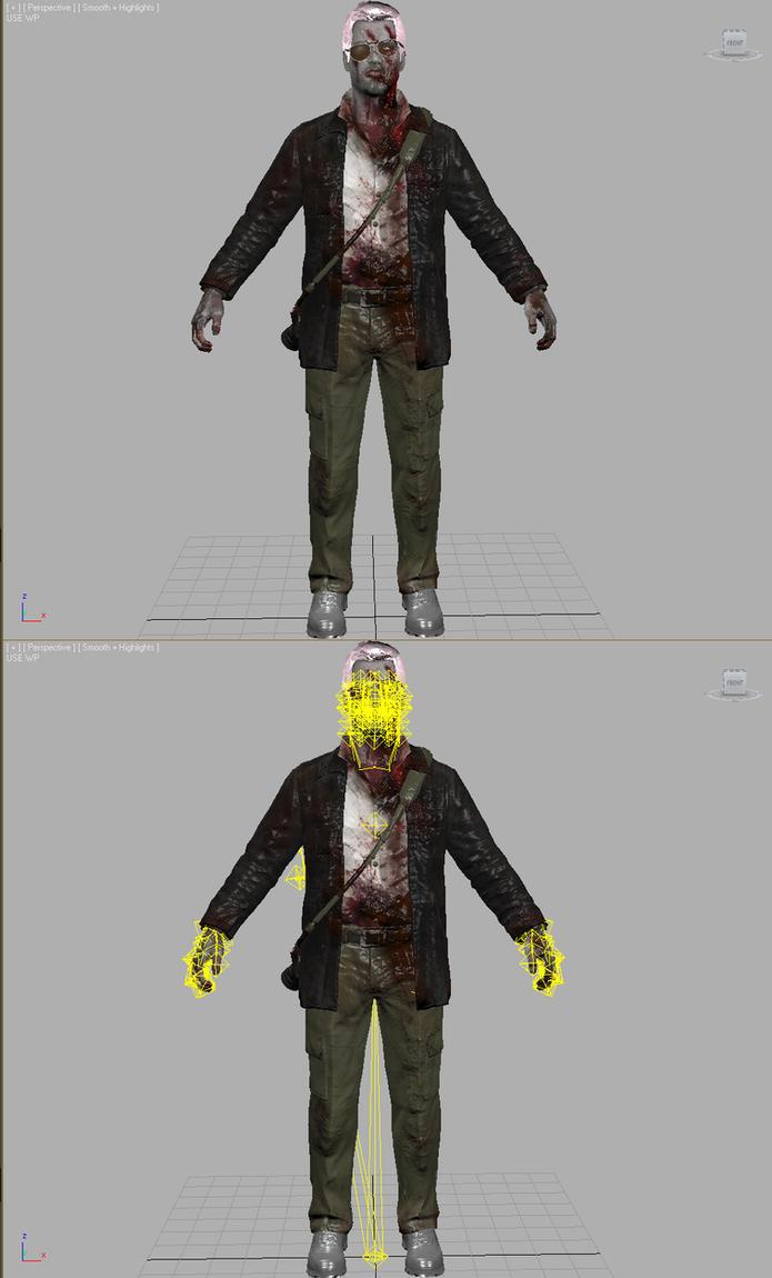 Dead Rising 4 - Zombie Frank by elonir