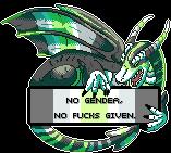 [F2U] Pride Dragon- Agender by anatiidae