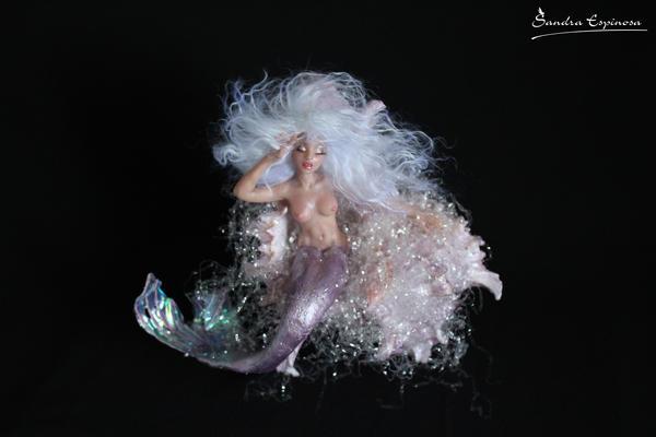 Sleeping Mermaid In Shell by Vozlin