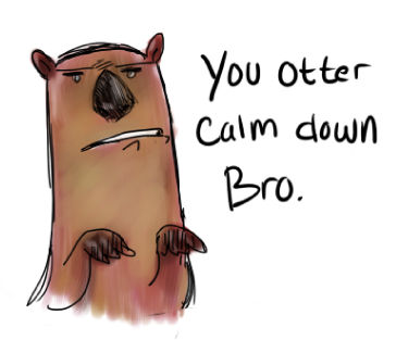 Whotter you saying?