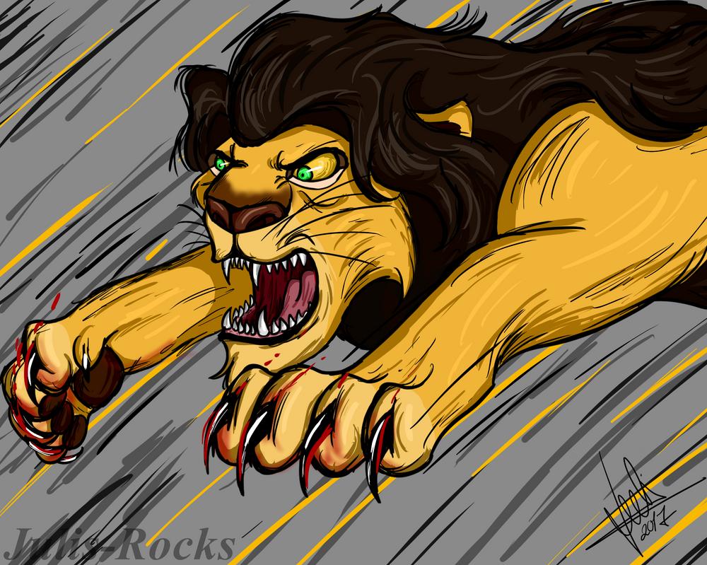Angry Ahadi by Julis-Rocks