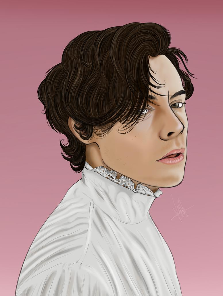 Harry Styles Portrait by Julis-Rocks