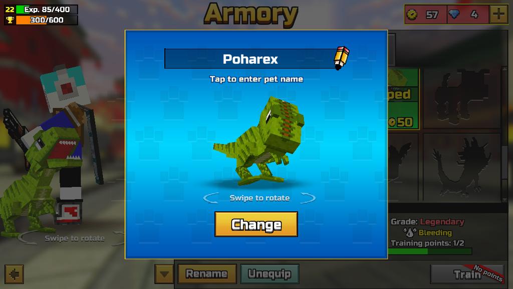 Poharex in Pixel Gun 3D by TruCyberDJ