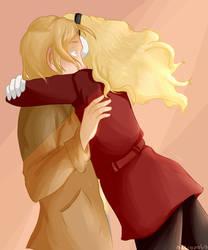 COUSIN HUG by niktropolis