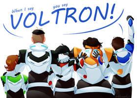 Voltron! by niktropolis
