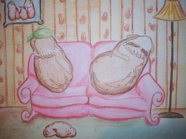 Couch Potatoes by beckuh