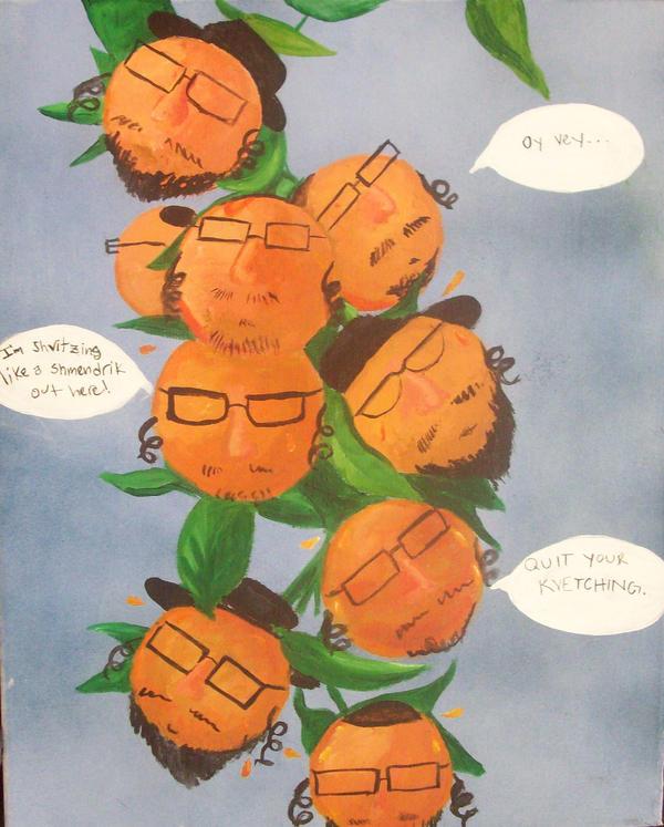 Orange Jews by beckuh