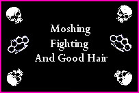 moshing fighting and good hair by DurtySouthPunx