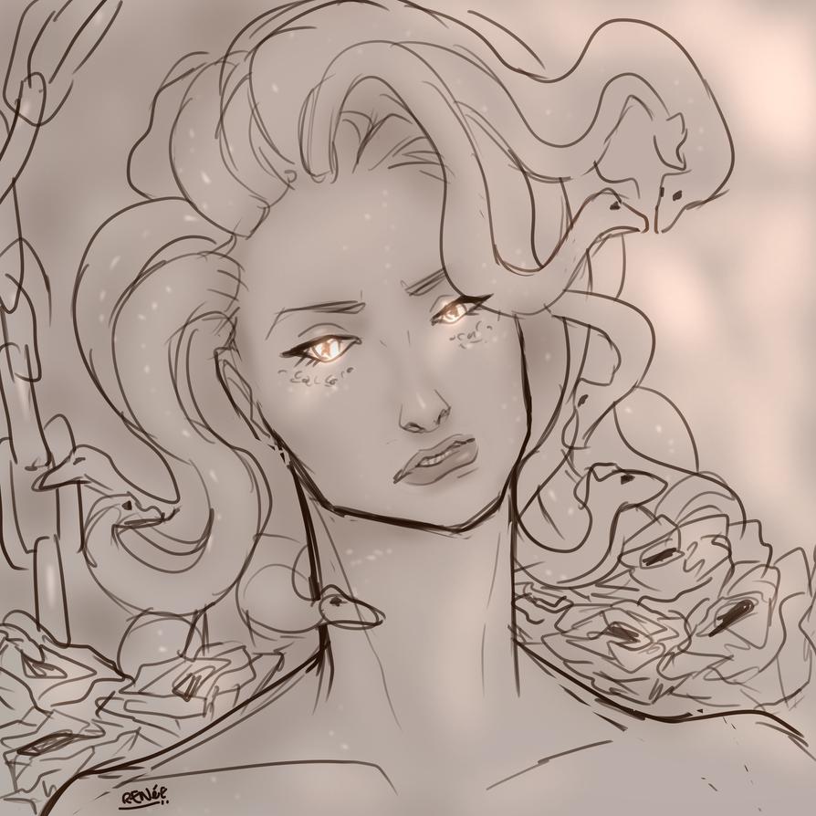 Medusa by GlassSeraph