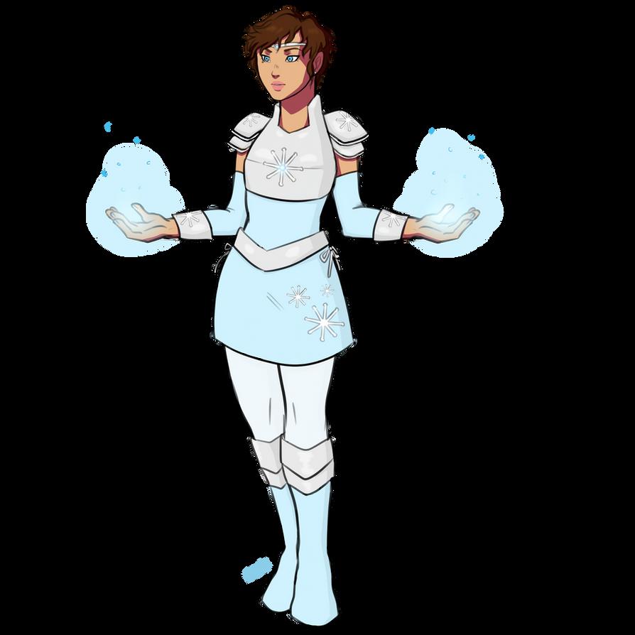 Snowflake Magical Girl AU by GlassSeraph