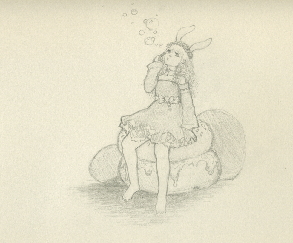Lil Bunny Lily by GlassSeraph