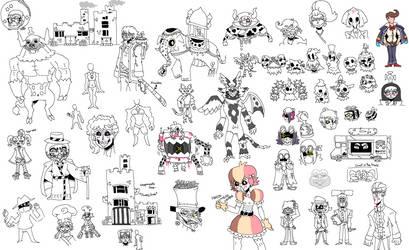 Webcomic Concept Art