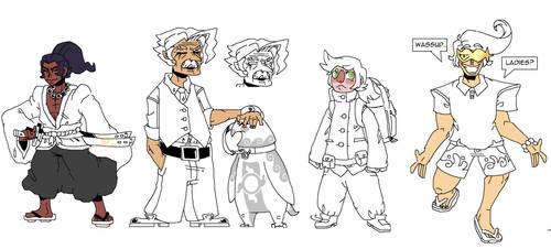 Webcomic Concept Art Part 2