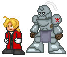 Elric Brothers Sprites