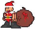 Santa Gluttony