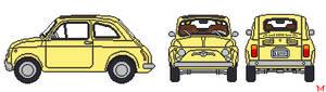 Lupin III's Fiat 500